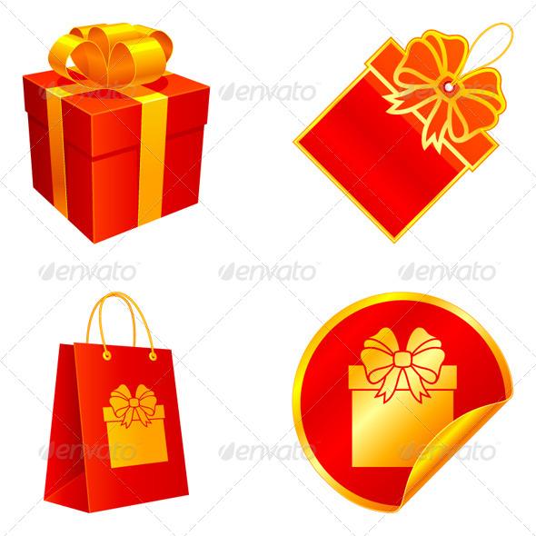 Gift Elements - Seasons/Holidays Conceptual