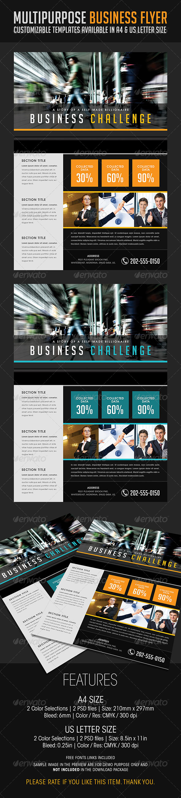 GraphicRiver Multipurpose Business Flyer 07 6813958