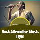Rock Alternative Music Flyer Template - GraphicRiver Item for Sale