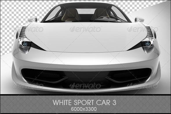 GraphicRiver White Sport Car 3 6814264