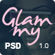 Glammy Modern eCommerce PSD Template - ThemeForest Item for Sale