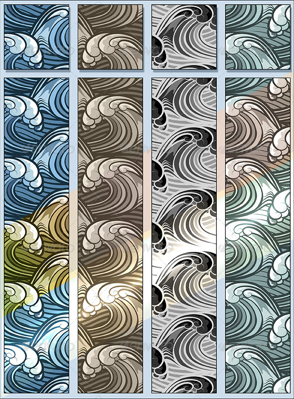 GraphicRiver Seamless Wave Pattern 6814999
