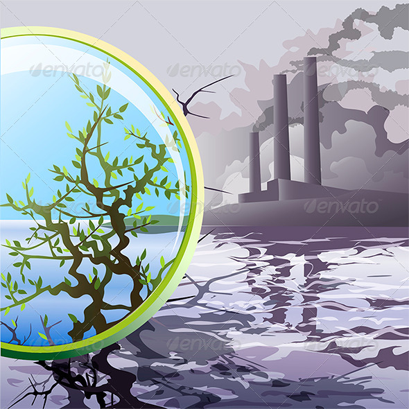 GraphicRiver Ecological Glass 6815010