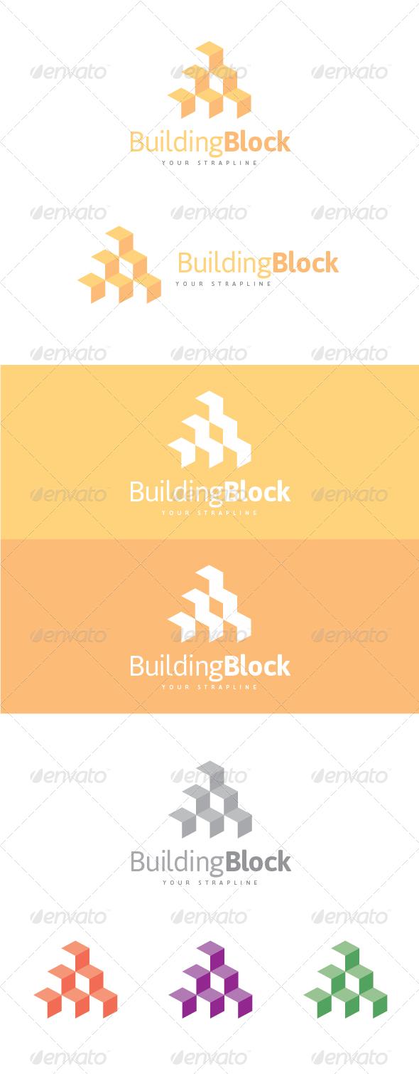 GraphicRiver Building Block Logo 6815048