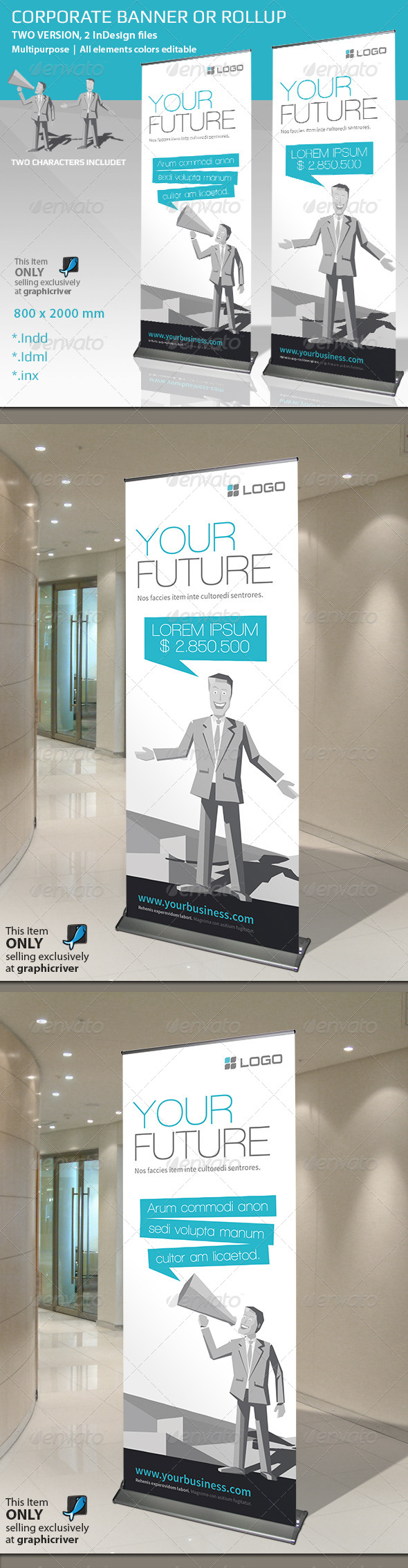 GraphicRiver Corporate Banner or Roll-up 6815191