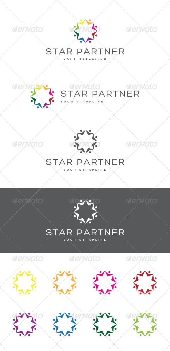 GraphicRiver Star Partner Logo 6815204