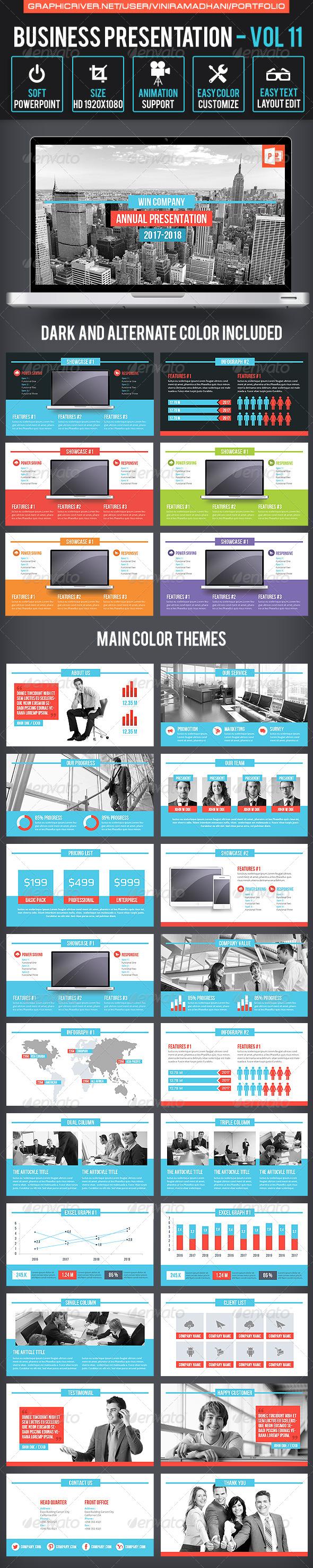 GraphicRiver Business Presentation Volume 11 6815569