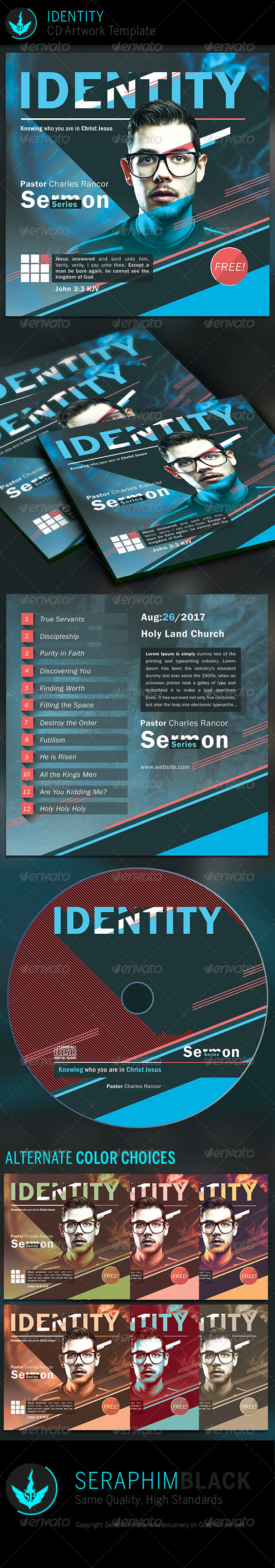 GraphicRiver Identity CD Artwork Template 6815676