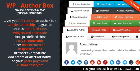 CodeCanyon WP Author Box 6815678