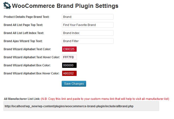 woocommerce manufacturer plugin by bigboss555 codecanyon. Black Bedroom Furniture Sets. Home Design Ideas