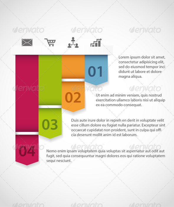 GraphicRiver Modern Infographics Template 6816649