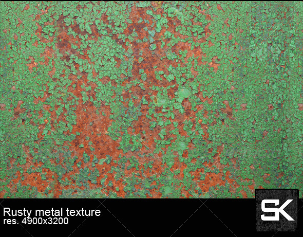 GraphicRiver Rusty Metal 6817583