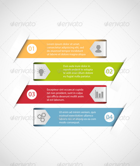 GraphicRiver Simple Infographic Template 6817919