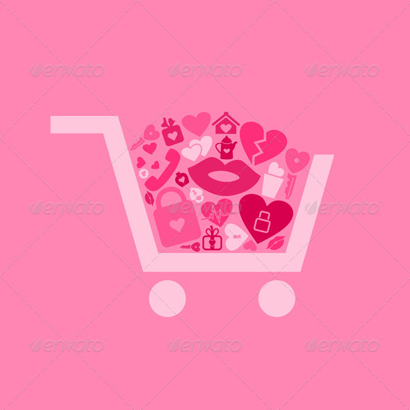 GraphicRiver Love a Cart 6818627