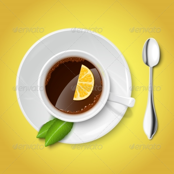 GraphicRiver White Cup with Tea 6818649
