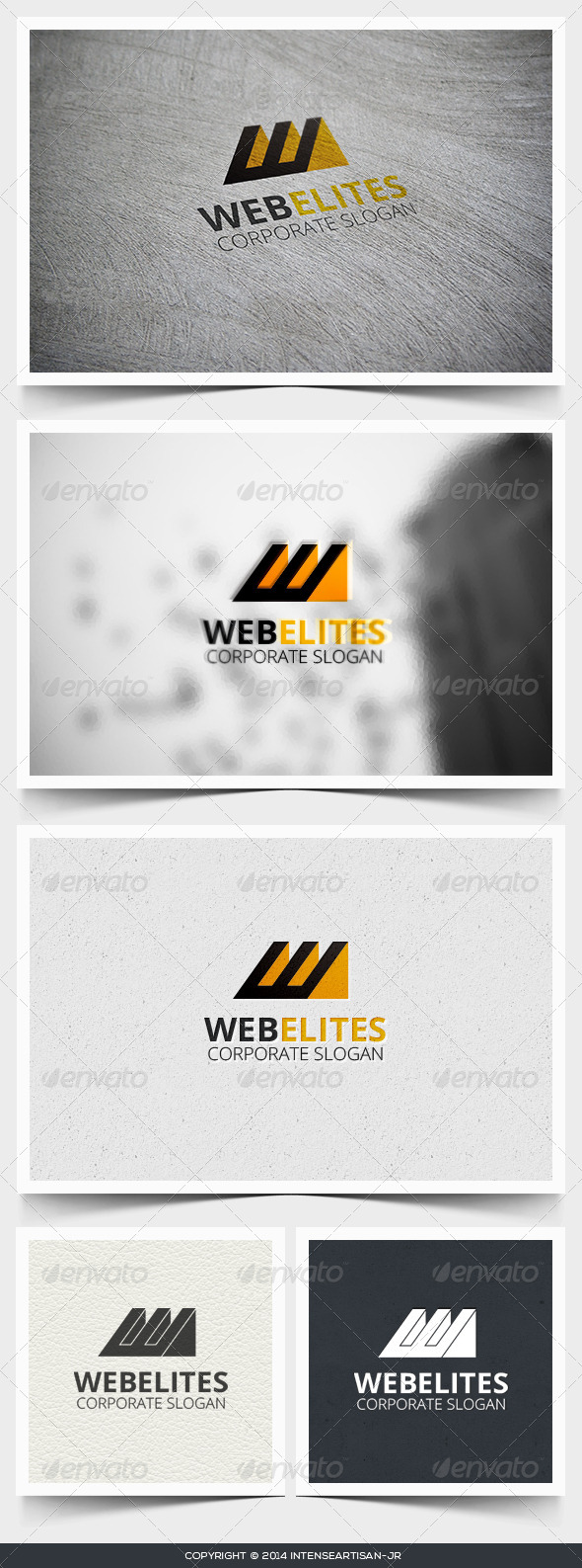 GraphicRiver Webelites Letter W Logo Template 6819302