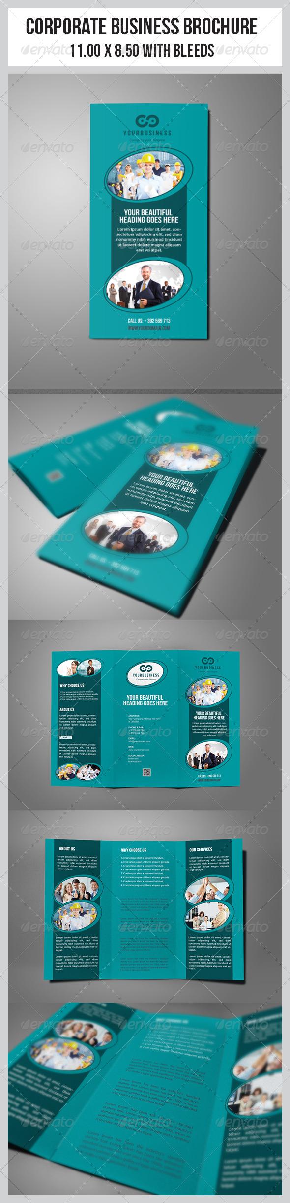 GraphicRiver Multipurpose Business Tri-Fold Template 6819308