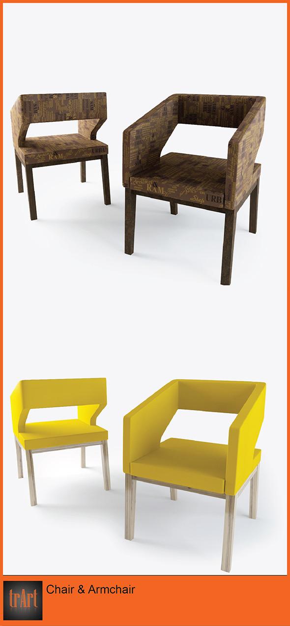 3DOcean Chair ArmChair 6819468