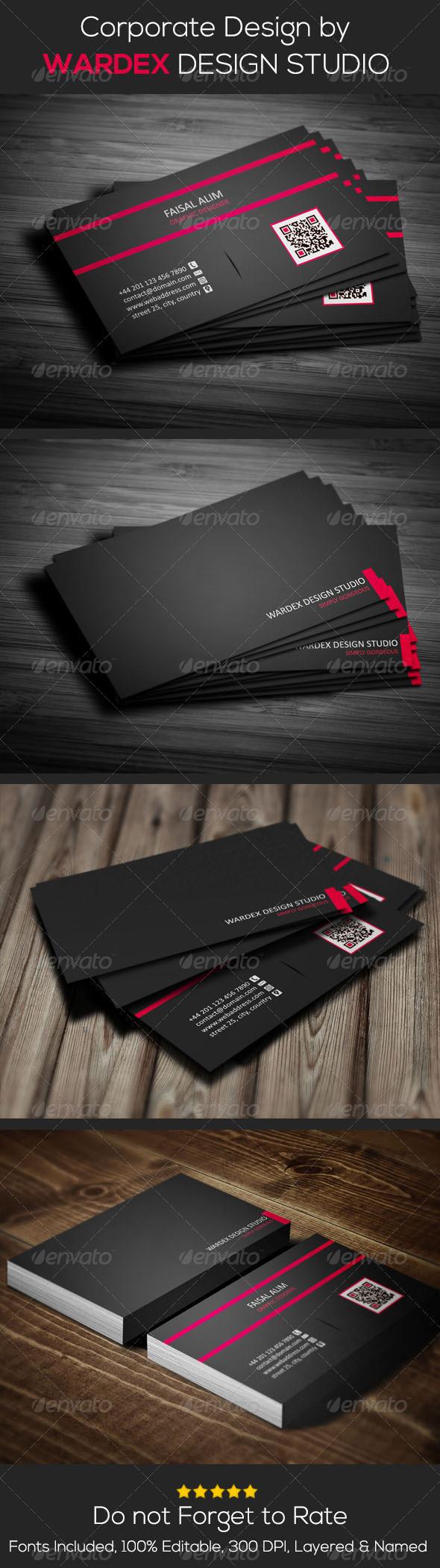 GraphicRiver Corporate & Pro Business Card Design 6819691