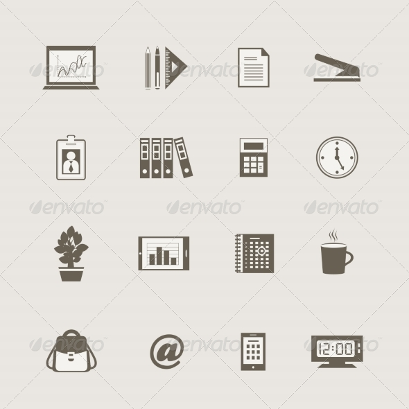 GraphicRiver Business Stationery Supplies Internet Collection 6819713