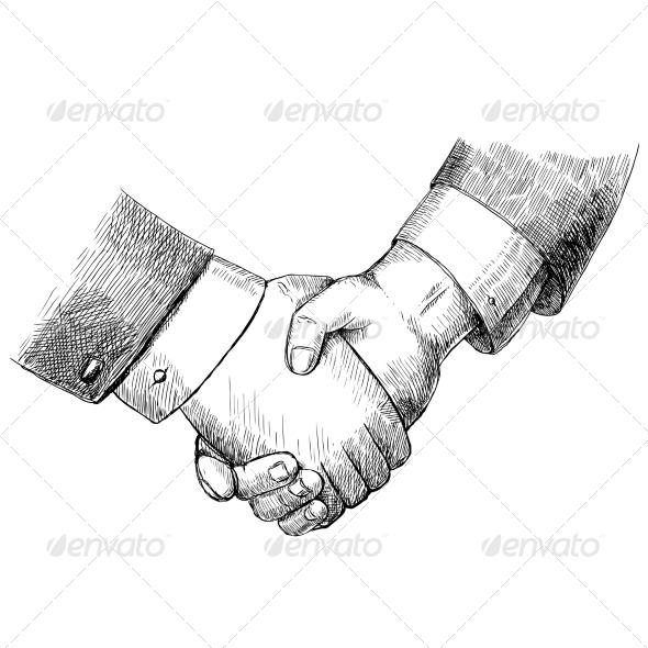 GraphicRiver Business Handshake 6820075