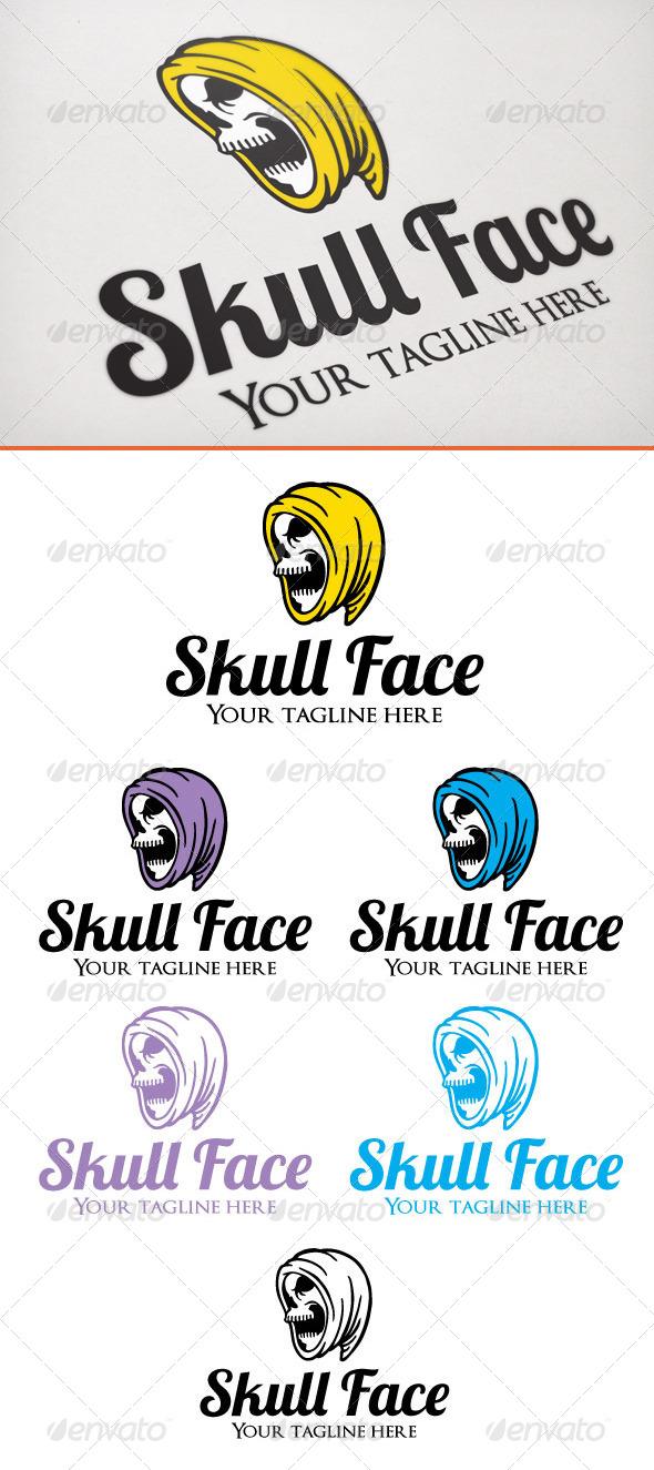 GraphicRiver Skull Face 6820334