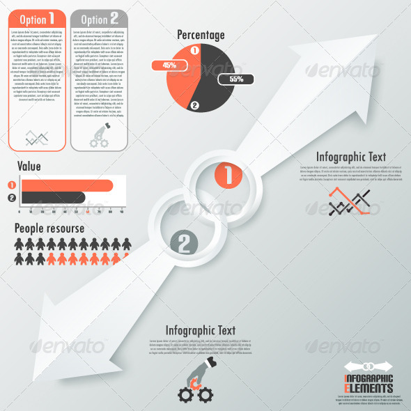 GraphicRiver Modern Infographic Options Banner With Arrows 6820541