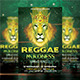 Reggae Madness Party Flyer