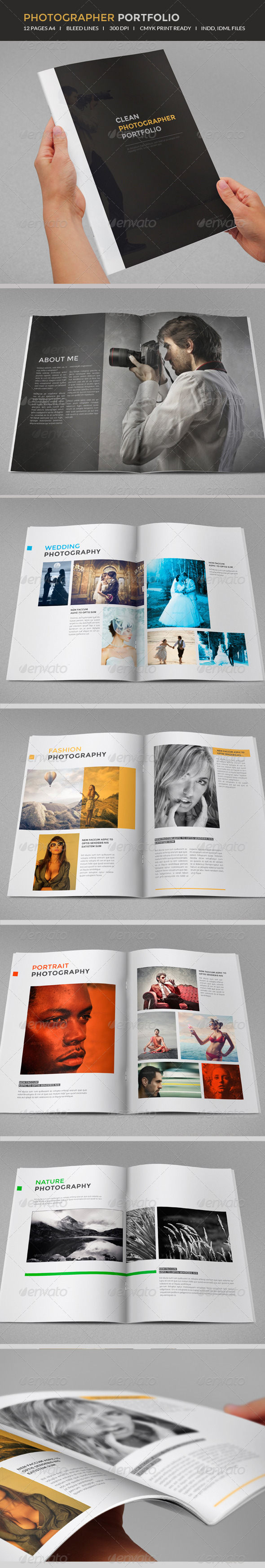 GraphicRiver Photography portfolio 6821226