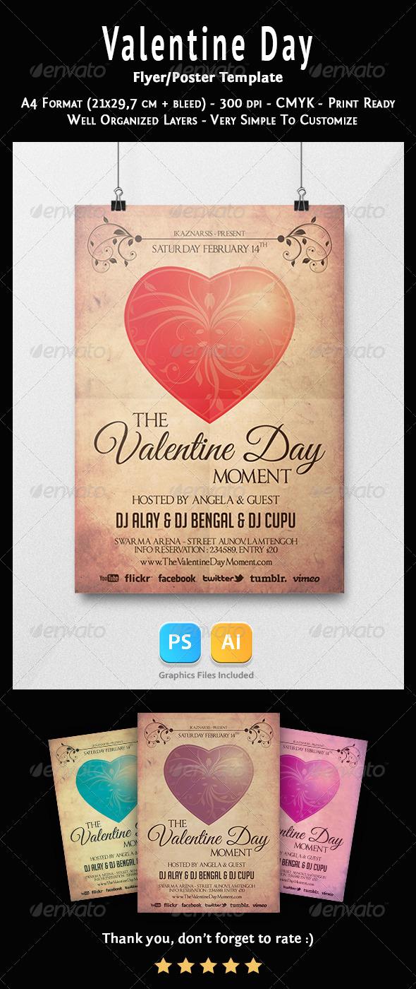GraphicRiver Valentine Days Flyer Templates 6823173