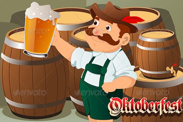 GraphicRiver Oktoberfest Concept 6823274