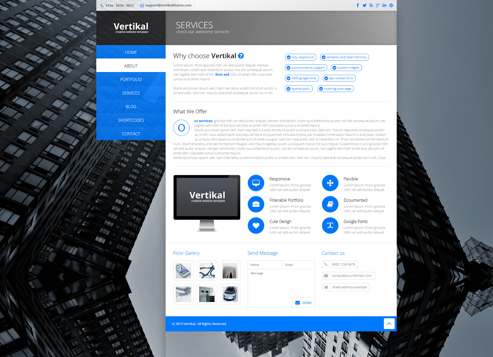 Vertikal - Multipurpose HTML5 Template