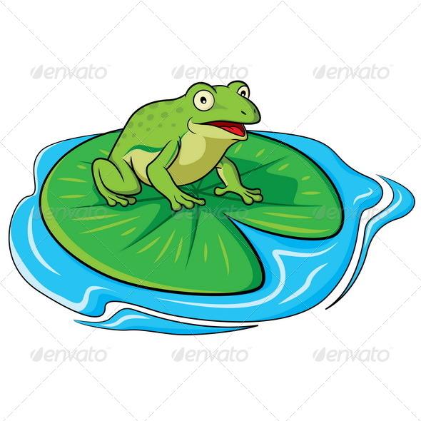 GraphicRiver Frog Cartoon 6824176