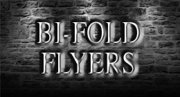BI-FOLD FLYERS