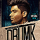 Dirty House Music Flyer Template - GraphicRiver Item for Sale