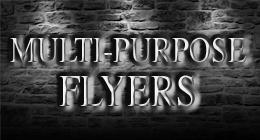 MULTI-PURPOSE FLYER