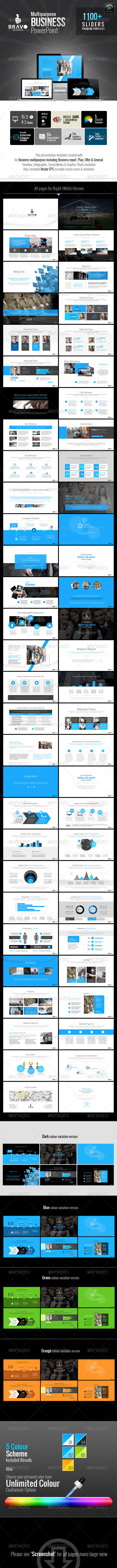 GraphicRiver Bravo Multipurpose Business Templates 6824598