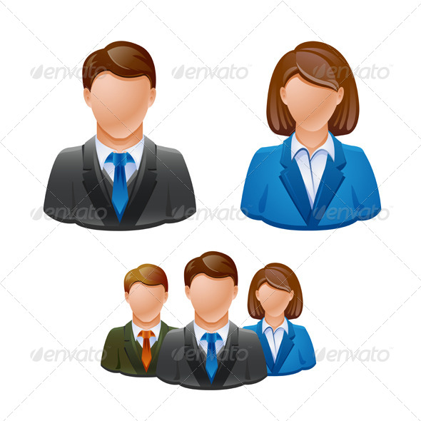 Business Avatar Icons