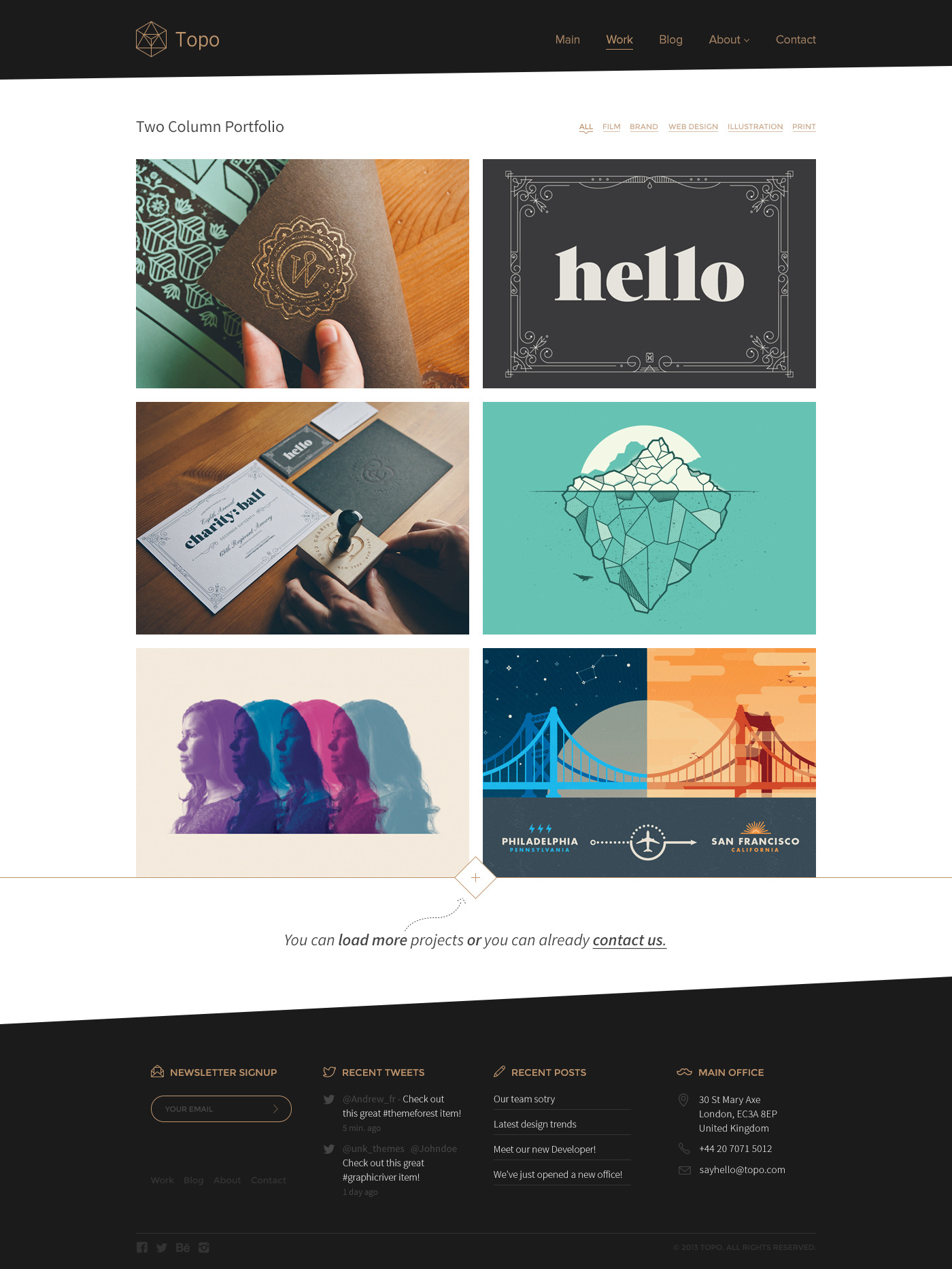Topo | Multi-Purpose PSD Theme