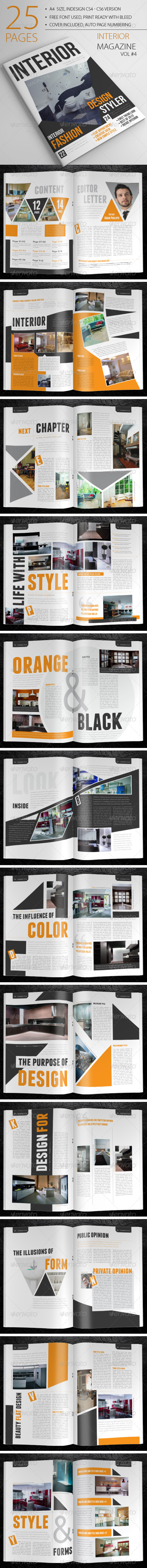 25 Pages Interior Magazine Vol4