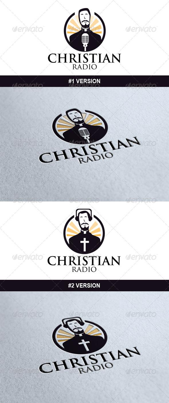 GraphicRiver Christian Radio Logo 6825335