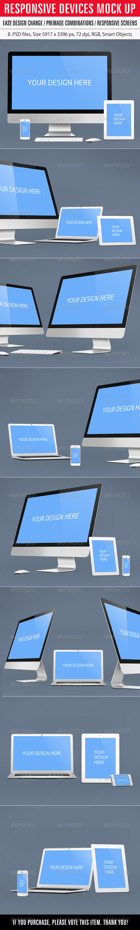 GraphicRiver Responsive Devices Mock Up 6825699