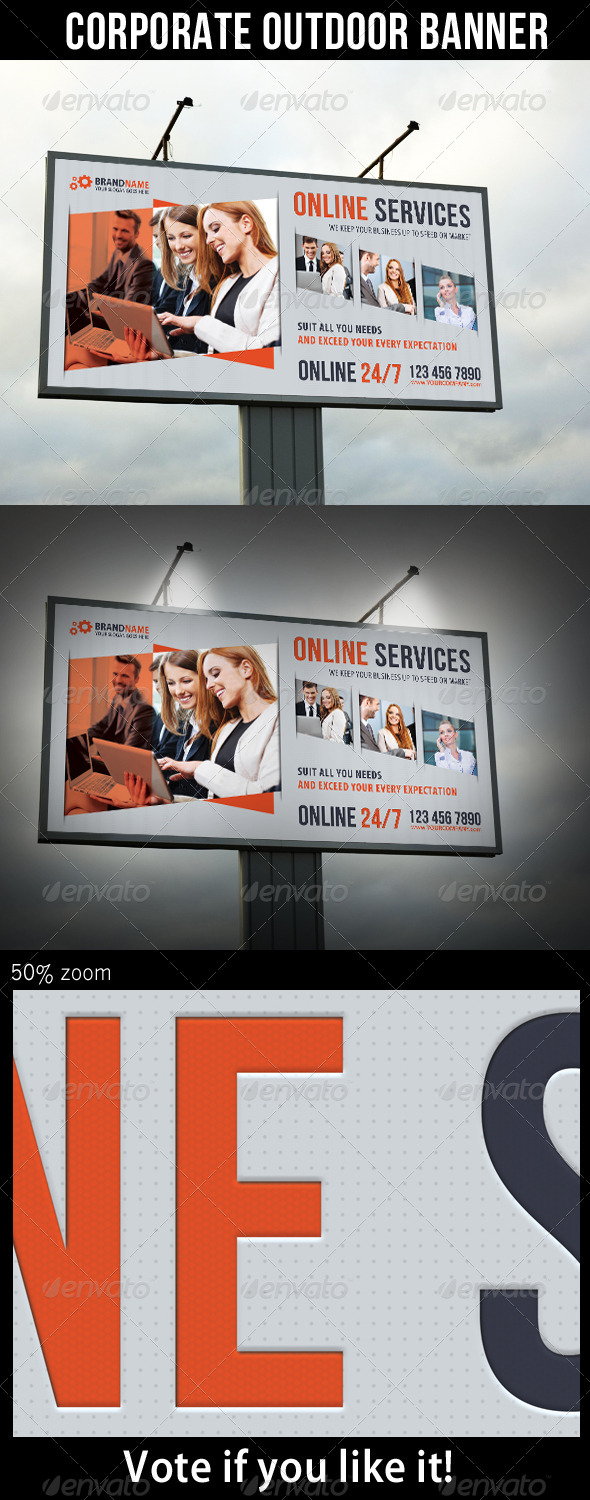 GraphicRiver Corporate Outdoor Banner 24 6825704