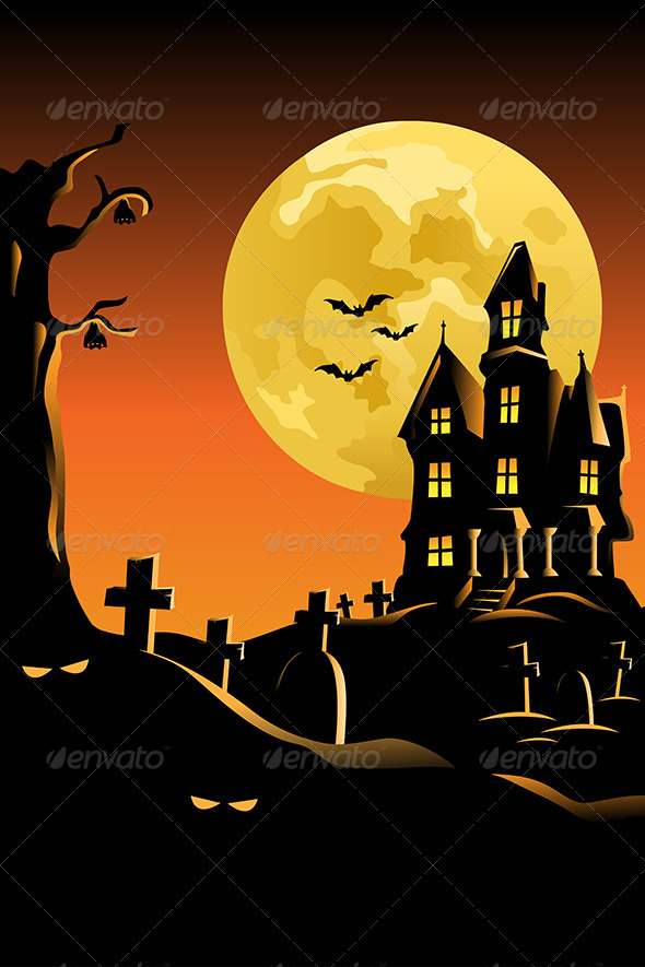 Halloween Background for Poster