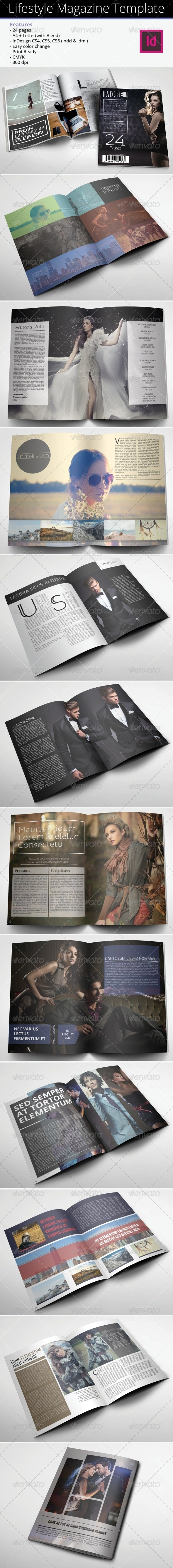 GraphicRiver Lifestyle Magazine Template 6825764