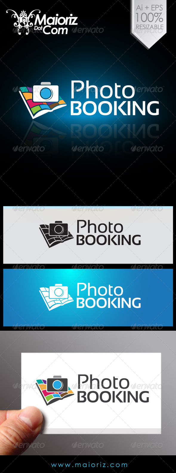 GraphicRiver Photo Booking Logo 6825797