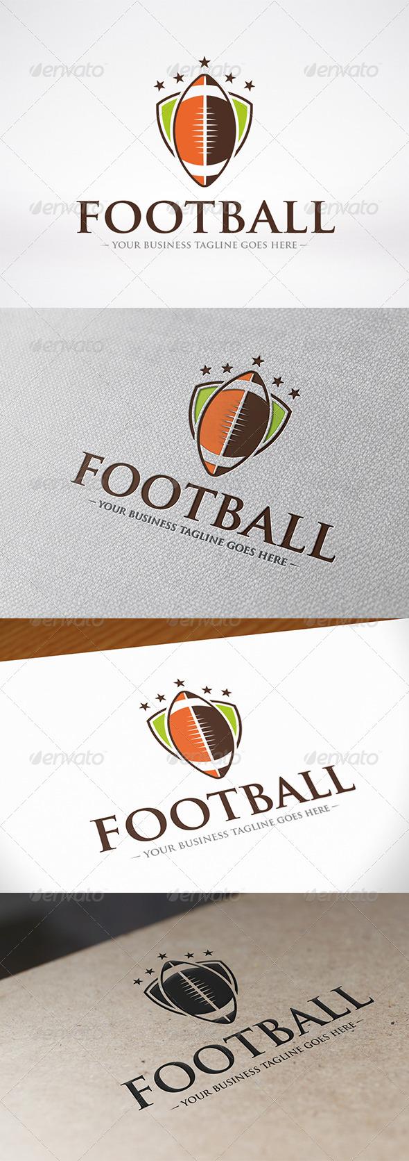 GraphicRiver Football Logo 6825817