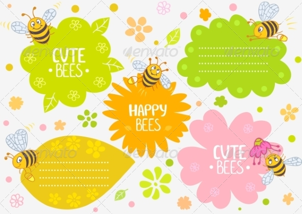 GraphicRiver Bees 6825953