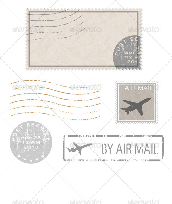 GraphicRiver Postal Business Icons 6826106