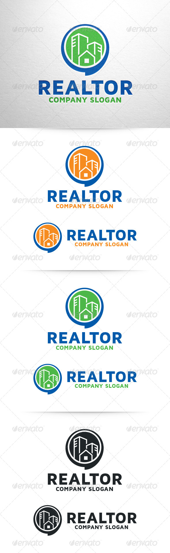 GraphicRiver Realtor Logo Template 6826194